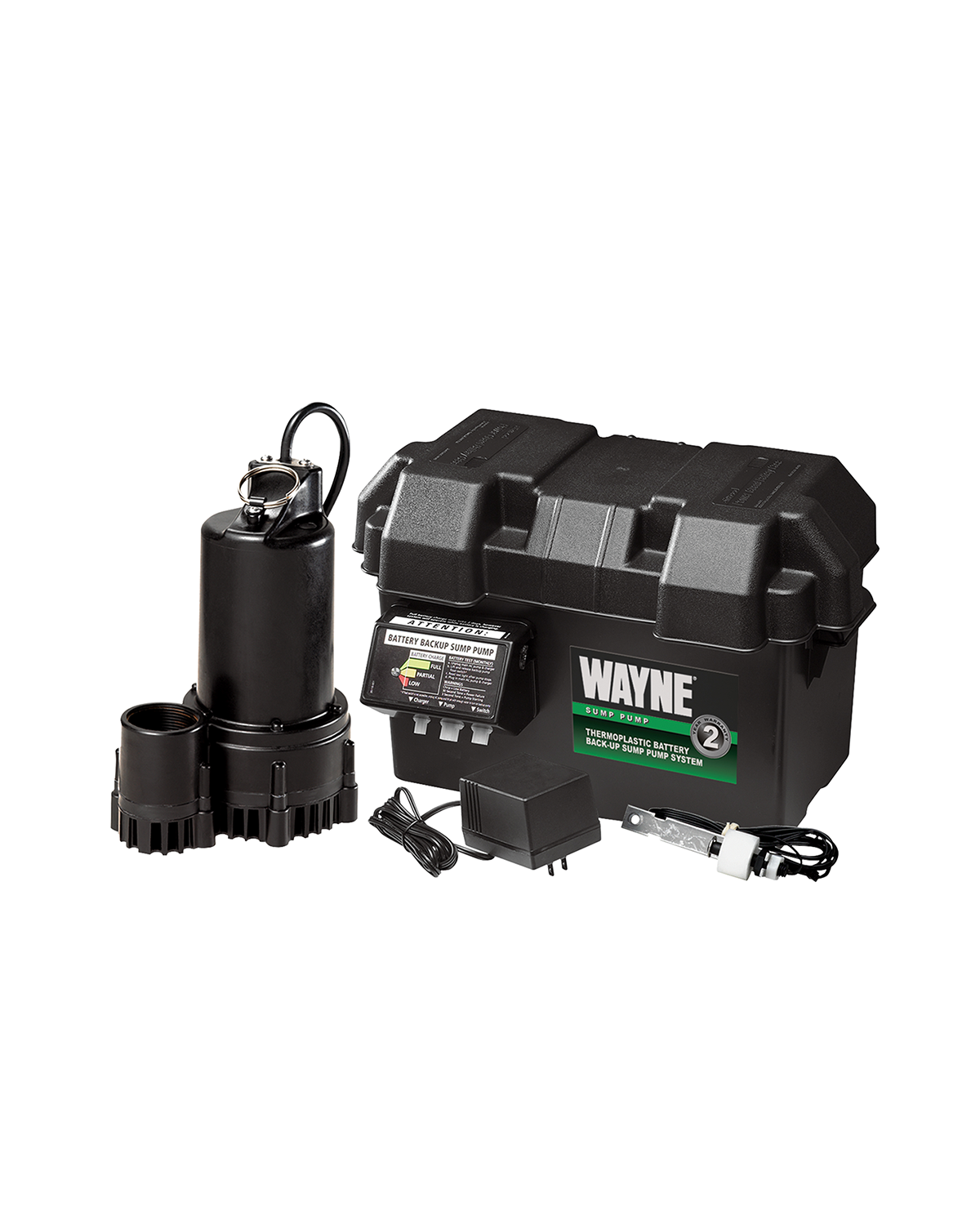 Wayne 12V Battery Backup Sump Pump | Solar Power & Pump Company
