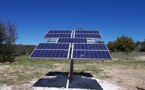 Dominion Oil - SunRotor XR Solar Array