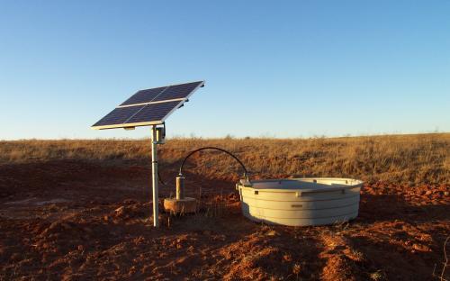 Jerry Dean - SunRotor System (Livestock Watering)