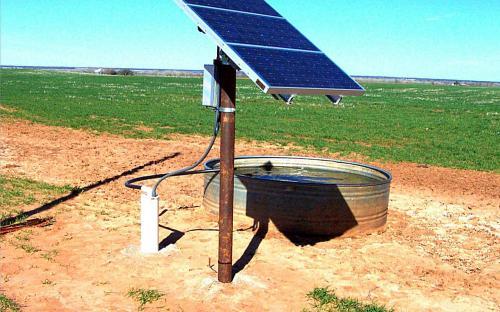 Seiling, OK - SunRotor System (Livestock Watering)