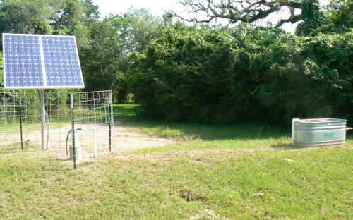 SunRotor SR-6 - Livestock Watering Installation