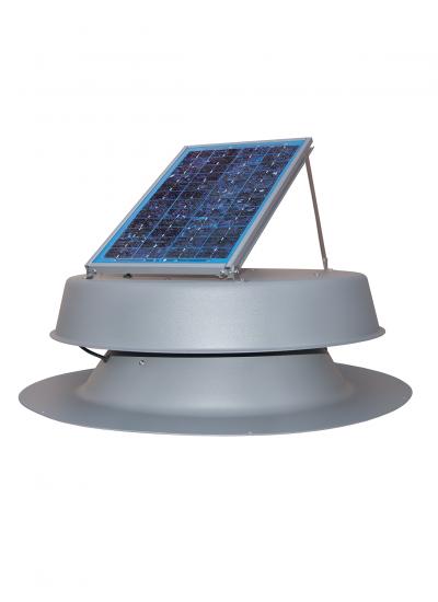 Natural Light Solar Attic Commercial Fan (Curb Mount) - 10W Panel